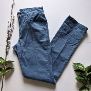 Levi's 505 straight leg blue pants size 26